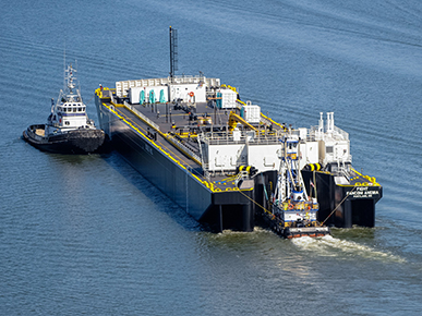 volvo-penta-harley-marine-barge - Pacific Power Group