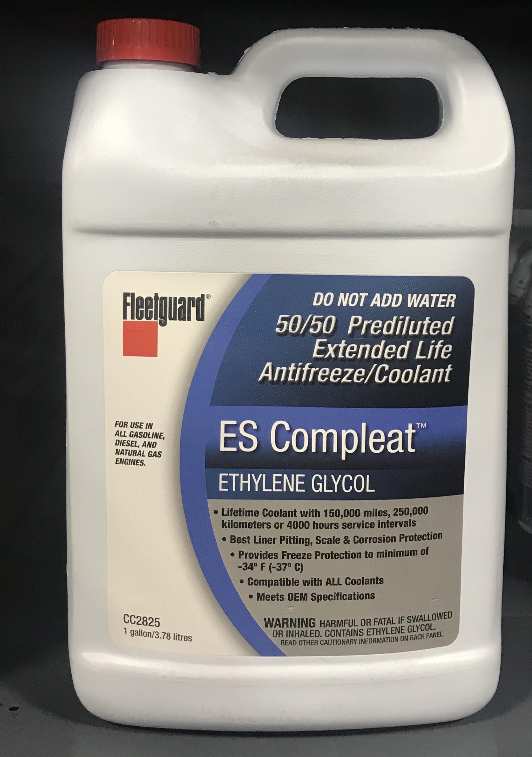 CC2825 - Fleetguard ES Compleat EG 50/50 Coolant
