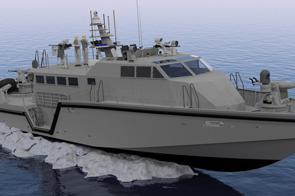 Cutting Edge Military Patrol Boats Rely On Power Supplied
