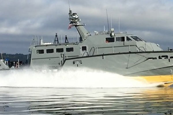 Cutting Edge Military Patrol Boats Rely on Power Supplied by PPG & MTU
