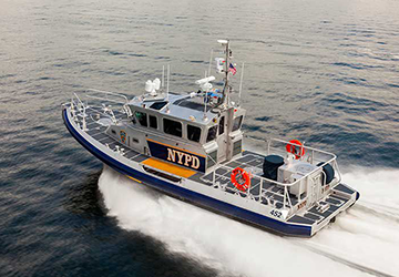 NYPD RB-M C new patrol boat