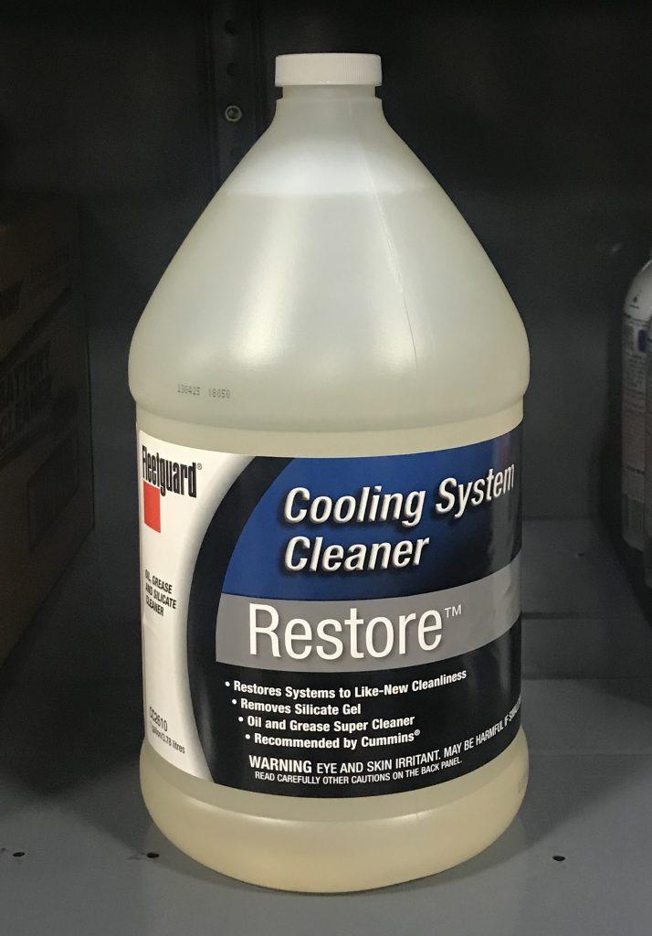 Cc2610 Fleetguard Restore Coolant System Cleaner