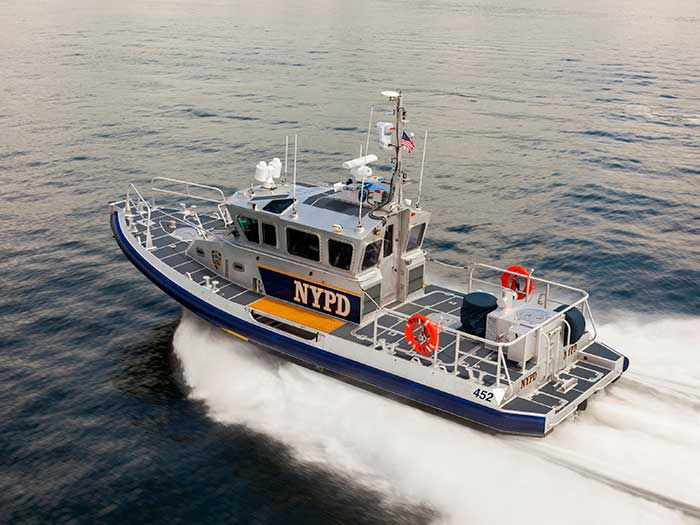 New NYPD Response Boat to be Powered by Volvo Penta - Pacific Power Group