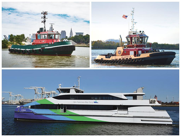 MTU powered vessels