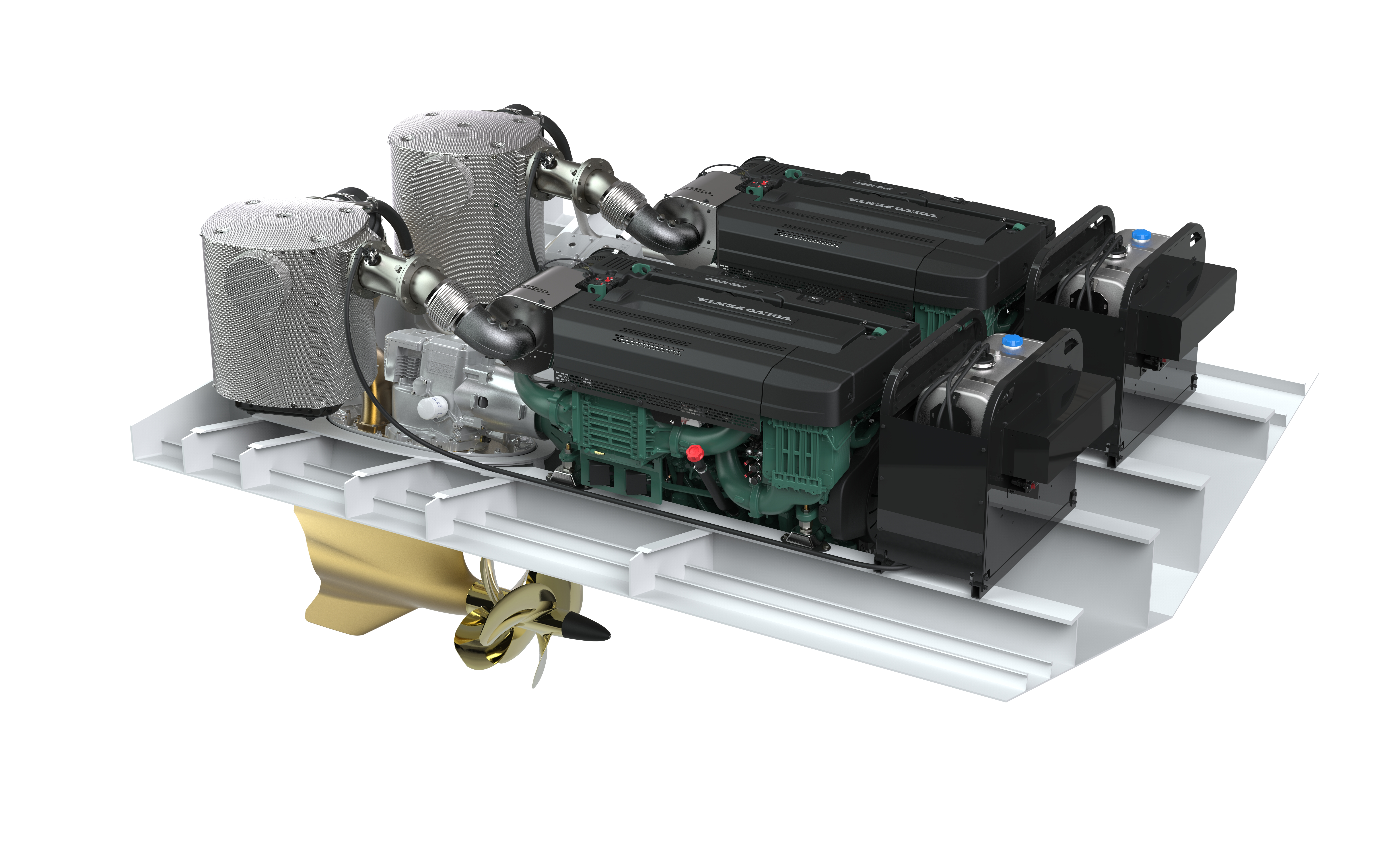 Marine Pacific Power Group Volvo Penta Fuel Filter Wrench Pentas Scr System Solves Emission Conundrum