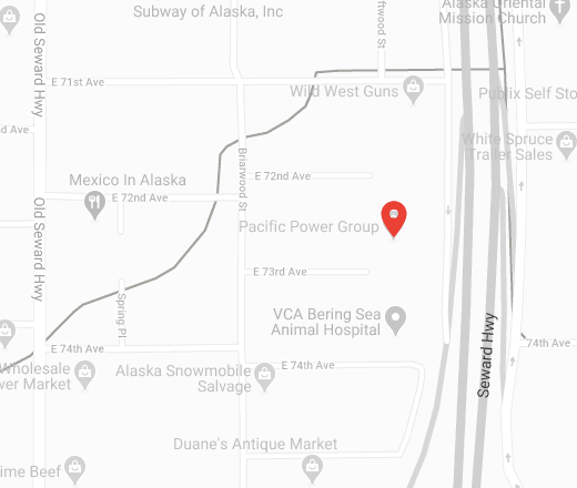 Map of our Alaska location